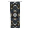 KESS InHouse Winter Fractals Curtain Panels (Set of 2)