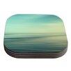 KESS InHouse Beach by Sylvia Cook Coaster (Set of 4)