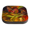 KESS InHouse Mirrored in Nature by Kristin Humphrey Coaster (Set of 4)