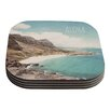 KESS InHouse Aloha by Nastasia Cook Coaster (Set of 4)