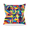 KESS InHouse The Optimist by Danny Ivan Geometric Throw Pillow