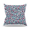 KESS InHouse Collide by Nick Atkinson Throw Pillow