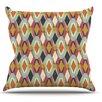 KESS InHouse Sequoyah Ovals by Amanda Lane Throw Pillow