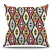 KESS InHouse Sequoyah Diamonds by Amanda Lane Throw Pillow