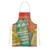 KESS InHouse Gatos by Carina Povarchik Cat Artistic Apron