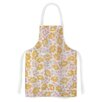 KESS InHouse Sun Kissed Petals by Heidi Jennings Orange Artistic Apron