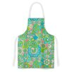 KESS InHouse Welcome Birds to my Garden by Julia Grifol Artistic Apron