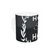 KESS InHouse Home Sweet Home by KESS Original 11 oz. White Ceramic Coffee Mug