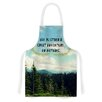KESS InHouse Life Is... by Robin Dickinson Landscape Typography Artistic Apron