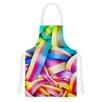 KESS InHouse Medal by Roberlan Rainbow Lines Artistic Apron