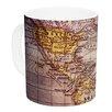 KESS InHouse Wander by Sylvia Cook 11 oz. Ceramic Coffee Mug