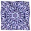 KESS InHouse Kaleidoscope Fleece Throw Blanket