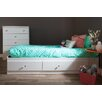 South Shore Crystal Twin Mate's Bed Box with Storage