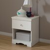 South Shore Crystal 1 Drawer Nightstand
