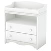 South Shore Heavenly 2 Drawer Changing Dresser