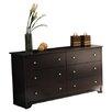 South Shore Vito 6 Drawer Double Dresser