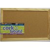 Dooley Boards Inc Wall Mounted Bulletin Board, 1' x 1'