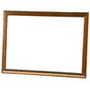 Dooley Boards Inc Deluxe Dry Erase Wall Mounted Whiteboard, 1' x 2'