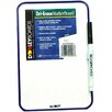 Dooley Boards Inc Dry Erase Wall Mounted Whiteboard, 1' x 1'