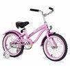 "Firmstrong Girl's 16"" Mini Bella Beach Cruiser Bicycle"