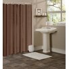 Dainty Home Hotel Waffle Shower Curtain
