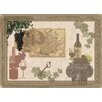 Dainty Home Malbec Foam Placemat (Set of 4)