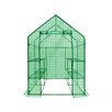 OGrow Deluxe Walk-In Learn 4.5 Ft. W x 4.5 Ft. D Greenhouse