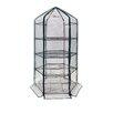 OGrow Ultra-Deluxe 4 Tier 1.5 Ft. W x 1.5 Ft. D Plastic Growing Rack Greenhouse