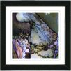"Studio Works Modern ""Blue Tattoo"" by Mia Singer Framed Fine Art Giclee Painting Print"
