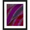 "Studio Works Modern ""Cinnabar - Purple"" by Zhee Singer Framed Fine Art Giclee Painting Print"