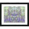 "Studio Works Modern ""Summer Land - Purple"" by Zhee Singer Framed Fine Art Giclee Painting Print"