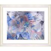 Studio Works Modern Honey Flowers Cloud Breeze by StudioWorksModern Framed Painting Print
