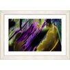 Studio Works Modern Ambrose Frisson by Zhee Singer Framed Painting Print in Purple