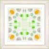 "Studio Works Modern ""Origami Pattern"" by Zhee Singer Framed Giclee Painting Print"