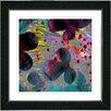 "Studio Works Modern ""Party Flower"" by Zhee Singer Framed Fine Art Giclee Painting Print"