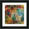 "Studio Works Modern ""Orange Reverie"" by Zhee Singer Framed Painting Print"
