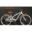 Fito Women's Modena SF Aluminum Alloy 7-Speed Cruiser Bike