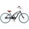 Fito Woman's Marina Alloy 3-Speed Beach Cruiser Bike