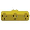 Stanley Electrical Heavy Duty Triple Tap