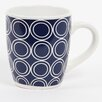 DEI Latitude 38 20 oz. Nautical Circle Stoneware Jumbo Mug