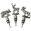 DEI Bear, Deer, and Moose Bottle Stoppers (Set of 3)