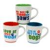 DEI Dog Sayings 24 oz. Mug (Set of 3)