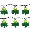 Brite Star 10 Light St. Patrick Clover String Light (Set of 2)