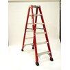 Michigan Ladder Heavy Duty 4 ft Fiberglass Step Ladder with 300 lb. Load Capacity