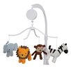 Lambs & Ivy Jungle Buddies Musical Mobile