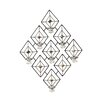 Elements Diamond Gem 7 Tea Light Sconce