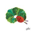 Marmont Hill 'The Very Hungry Caterpillar Character Caterpillar 7' by Eric Carle Painting Print on Wrapped Canvas