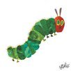 """Marmont Hill """"Character Caterpillar"""" by Eric Carle Painting Print on Wrapped Canvas"""