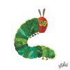 Marmont Hill 'The Very Hungry Caterpillar Character Caterpillar 4' by Eric Carle Painting Print on Wrapped Canvas