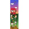 Marmont Hill Peanuts Thanksgiving Canvas Growth Chart
